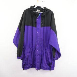 90s Helly Hansen Mens XL Windbreaker Jacket Purple